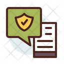 Chat Secure Chatting Chatting Security Icon