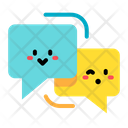 Chat Cute Communication Icon