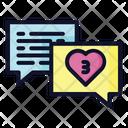 Chat Communication Notification Icon