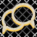 Chat Bubbles Message Icon