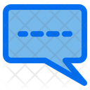 Chat Message Typing Icon