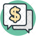 Chat Bubble Dollar Icon