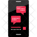 Chat Bubble Phone Icon