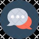 Chat Bubbles Speech Icon