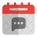 Chat Agenda Icon