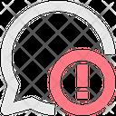 Chat Alert Text Alert Notification Mobile Communication Icon