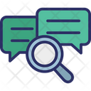 Chat analysis Icon