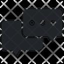 Chat Balloon Icon