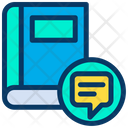 Book Chat Learning Icon