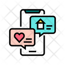 Chat Messaging Color Icon