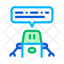 Artificial Intelligence Chat Icon