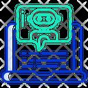 Chat Bot Robotic Chat Robot Communication Icon