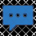Chat Bubble Icon