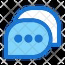 Chat Bubble Web App Icon