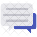 Chat Bubble Speech Bubble Chat Balloon Icon