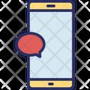 Chat Bubble Communication Mobile Icon