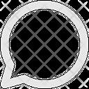 Chat Bubble Bubble Chat Icon