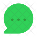 Bubble Notification Message Icon