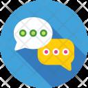 Chat Bubbles Talk Icon