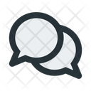 Chat Bubbles Message Icon