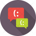 Chat Bubbles Chatting Icon