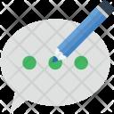 Chat Compose Bubble Icon