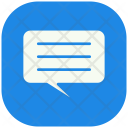 Chat Conversation Science Icon