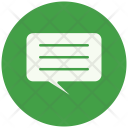 Chat Conversation Talk Icon