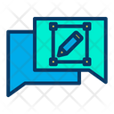 Chat Design Icon