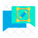 Design Chat Chatting Icon