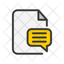 Chat document Icon