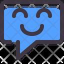 Chat Comment Emot Icon