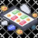 Chat Emoji Emotions Mobile Emotags Icon
