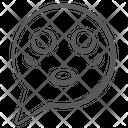 Emoticon Chat Emoji Speech Bubble Emoji Icon