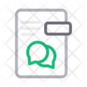 Chat Message File Icon