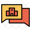 Chat Message Communication Icon