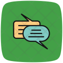 Chat Into Conversation Icon