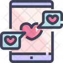 Chat Love Love Message Sms Icon