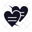 Chat Love Hat Love Icon