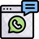 Network Communication Chat Icon