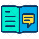 Chat Notebook Icon