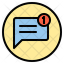 Chat notification Icon