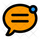 Chat Notification Bubble Alert Icon