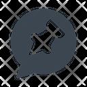 Attach Pin Message Icon