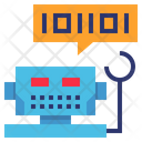 Chat Bot Robot Icon