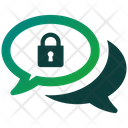 Chat Secure Secure Lock Icon
