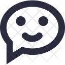 Chat Smiley Icon