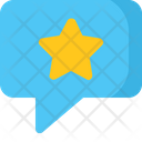 Chat Star Icon