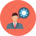Chat Support Customer Support Cog Icon