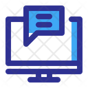 Email Email Marketing Laptop Icon
